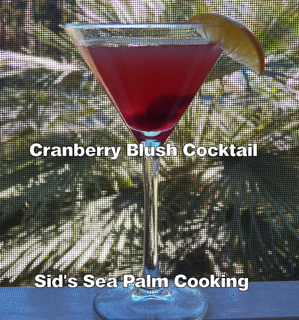 Cranberry Blush Cocktail