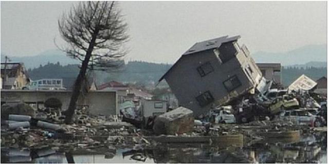 Gempa picu tragedi PLTN Fukushima Daiichi