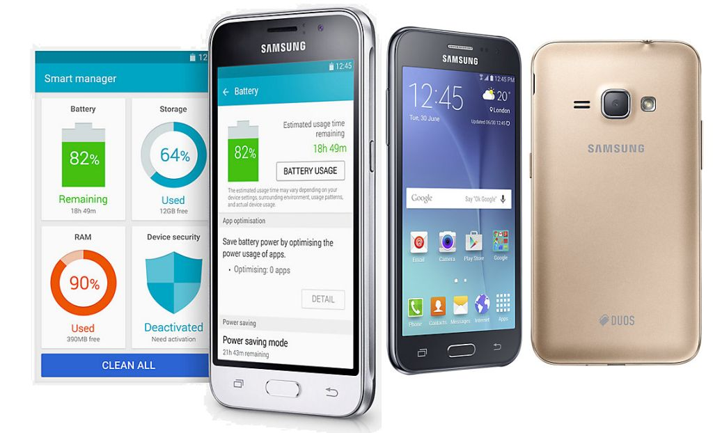 Galaxy J1 SM-J120G with Specifications