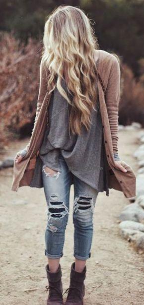 pelo largo sensual