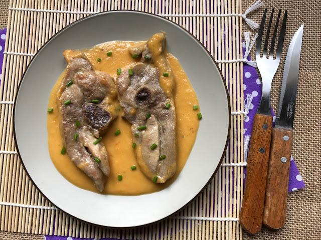 osobuco de pavo en salsa de verduras receta