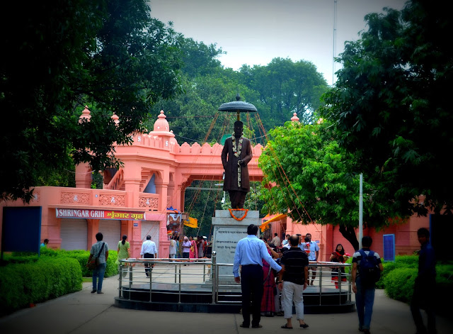 Statue of Madan Mohan Malaviya at BHU, Varanasi