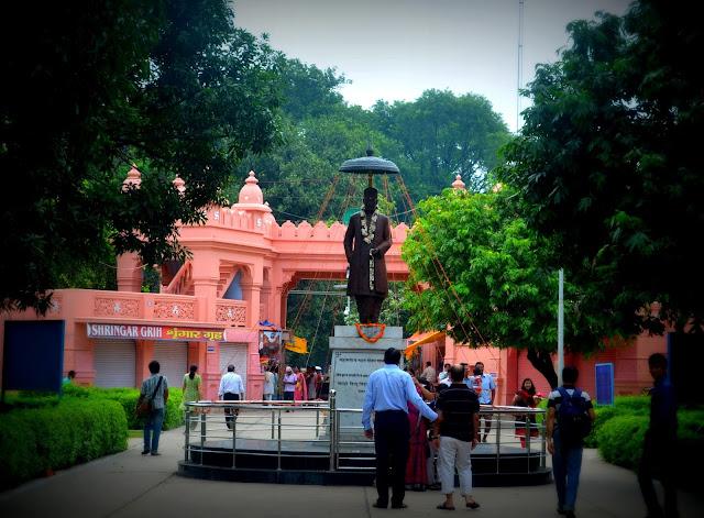 Statue of Madan Mohan Malaviya at BHU, Varanasi