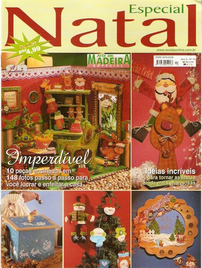 Especial De Natal-Arte em Madeira