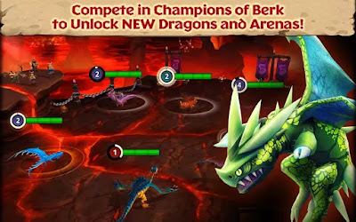 Dragons Rise of Berk All Dragons Unlocked MOD Unlimited Money Runes v1.25.13 Apk Android Terbaru