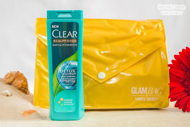 CLEAR Scalpfoods Шампунь против перхоти Detox Ежедневный: отзывы