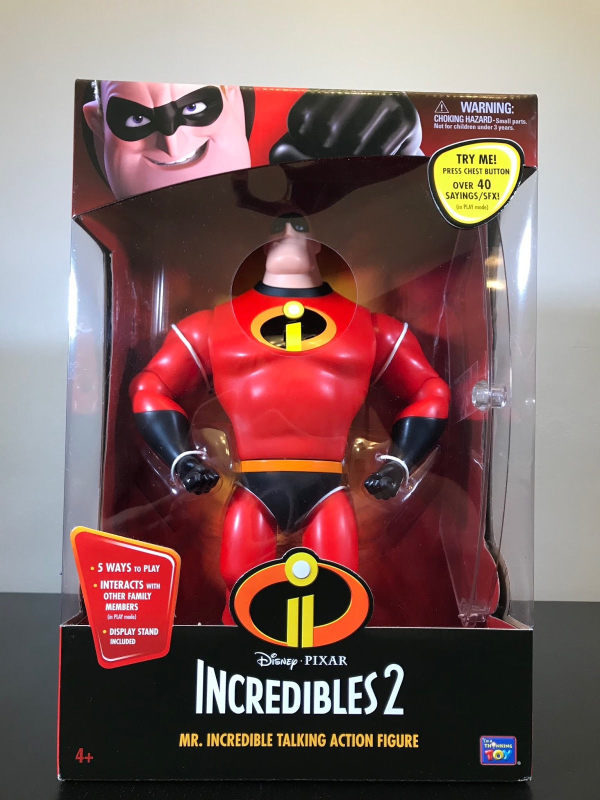 The Incredibles Toys : Tubey toys video and toy review mr incredible disney
