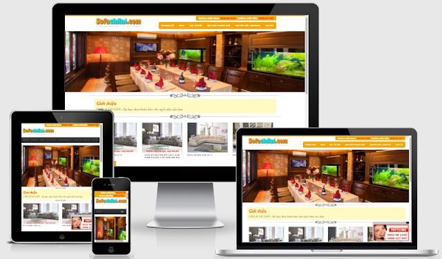 Template blogspot bán hàng sofa - Nội Thất