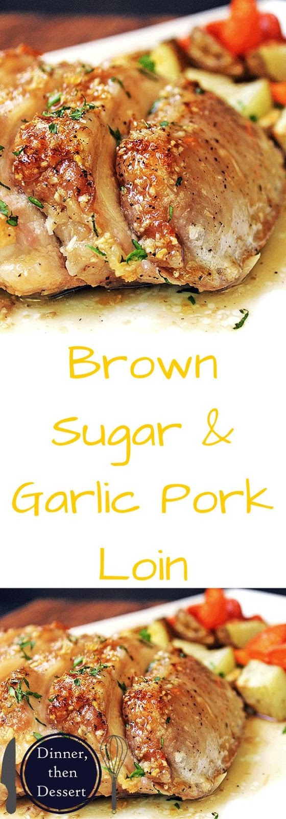 BROWN SUGAR GARLIC PORK WITH CARROTS & POTATOES