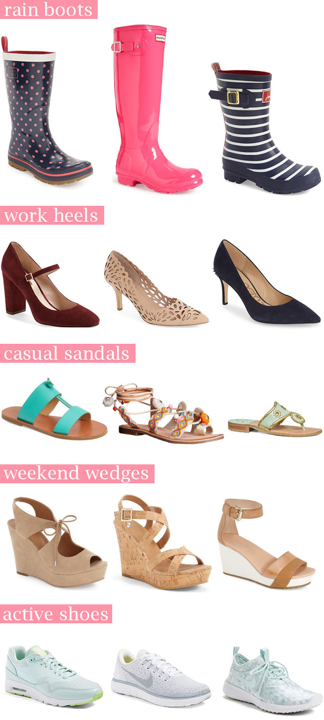 The Five Pairs of Shoes You Need for College | The Bella Insider