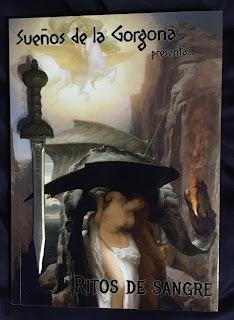 Portada del libro Sueños de la Gorgona: Ritos de sangre, de varios autores
