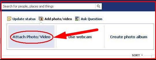 upload audio file to facebook