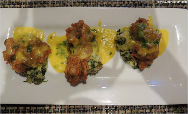 Fried Oysters Rockefeller