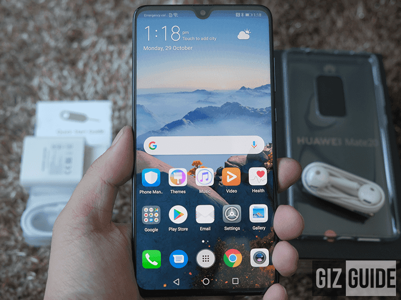 Huawei Mate 20 Unboxing and First Impressions