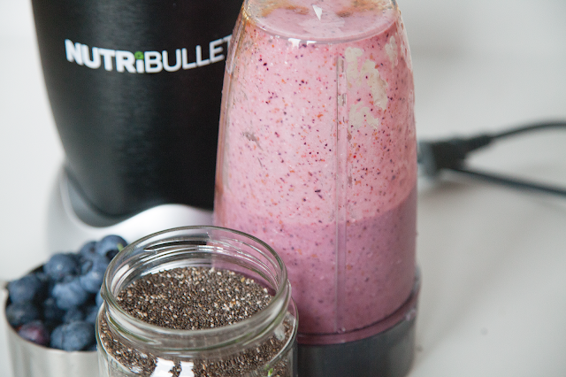 Strawberry Blueberry Smoothie - My Southern Sweet Tooth