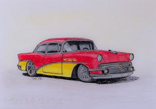 Kaart - Buick 56 Special
