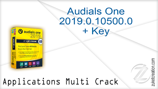 Audials One 2019.0.10500.0 + Key