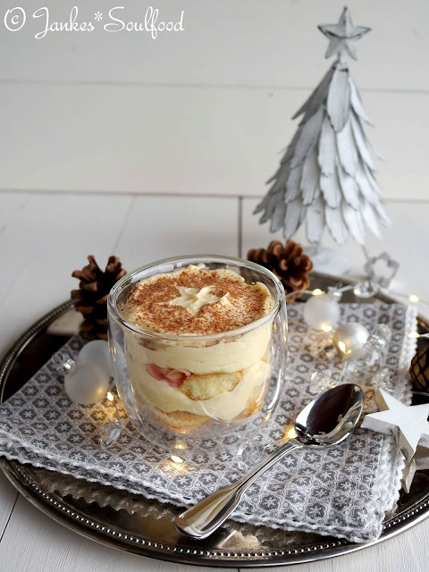 Weihnachtsmenü 2016 Bratapfel Tiramisu