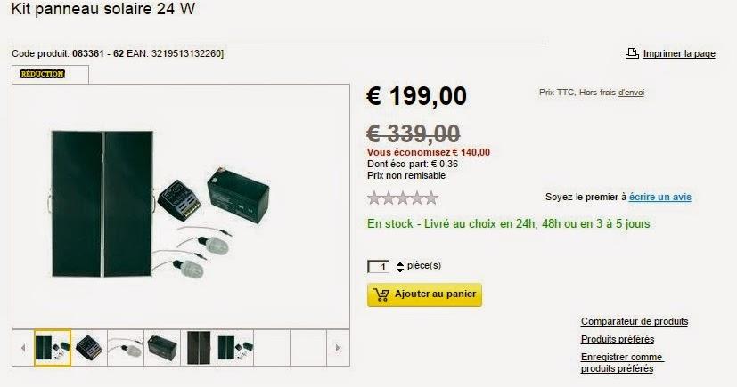 infos technos informatique vid os hifi photos kit panneau solaire conrad rentable ou. Black Bedroom Furniture Sets. Home Design Ideas