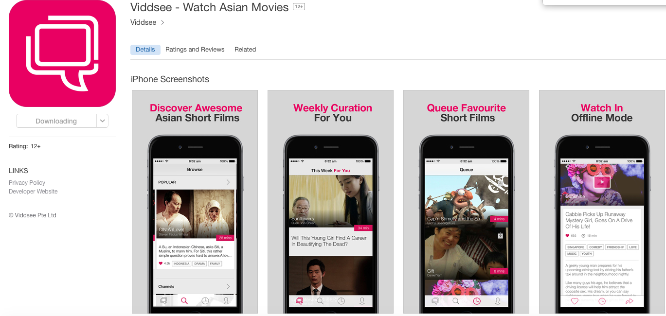 Asian Movies Website