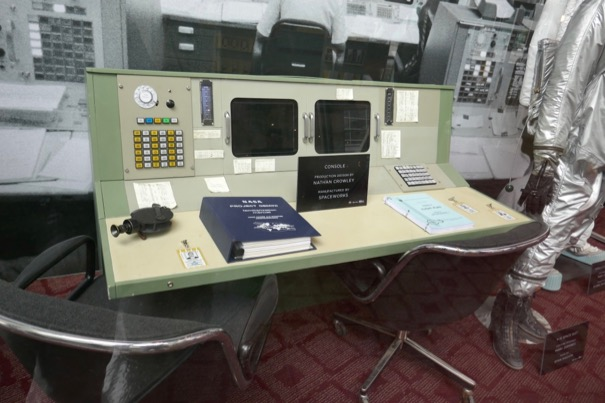 First Man NASA console props