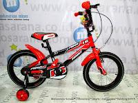 family fiber 16 inci sepeda anak laki-laki bmx