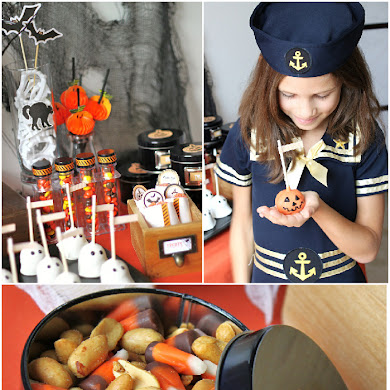 Halloween DIY Kid's Dessert Table