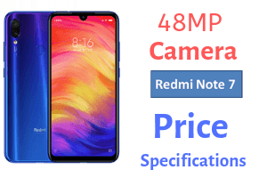 Redmi Note 7 Price In India