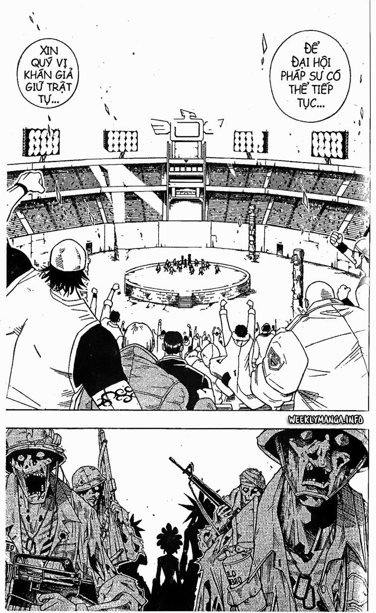 Shaman King [Vua pháp thuật] chap 208 trang 10