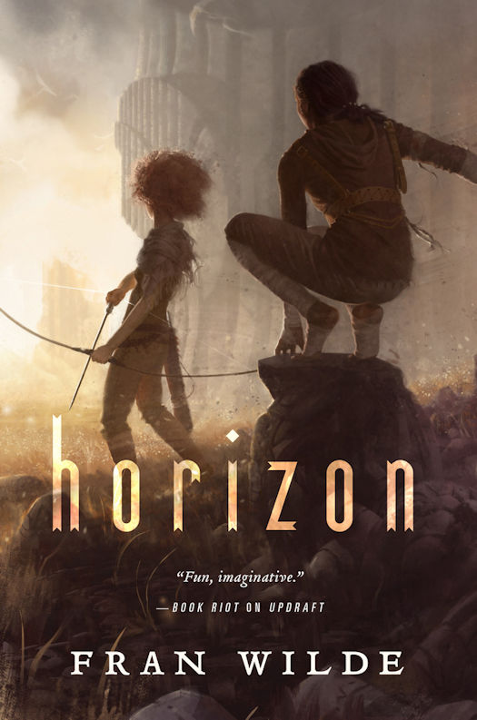 Cover Revealed - Horizon by Fran Wilde