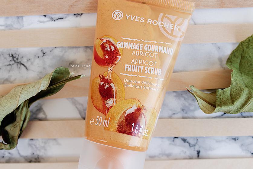 Yves Rocher Kayısılı Yüz Peelingi ♡ │ Yves Rocher Apricot Fruity Scrub  ♡ │ AUSE ESUA