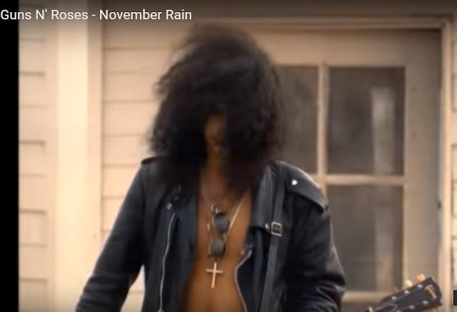 November Rain com Guns N' Roses