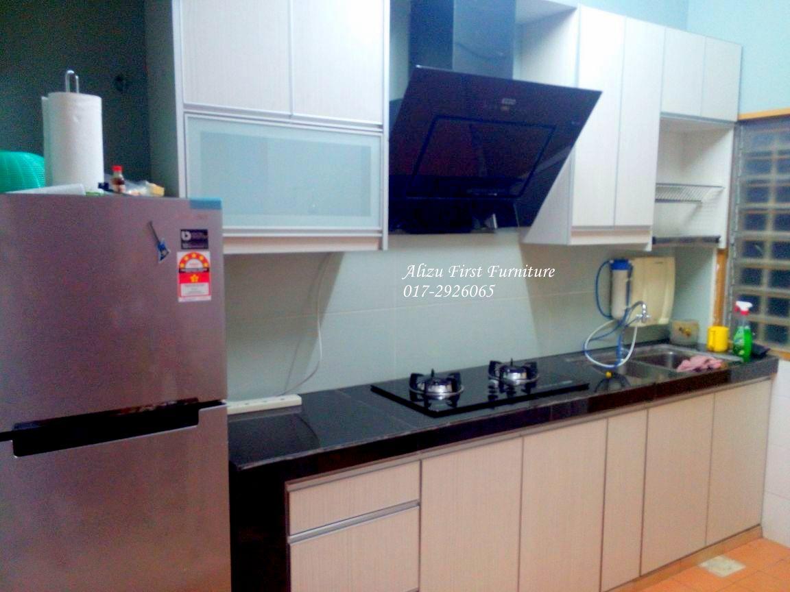 Melamine Kitchen Cabinet At Kota Kemuning Kabinet Dapur Melamine Di Kota Kemuning