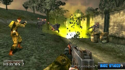 Medal Of Honor: Heroes 2 PPSSPP Android 4