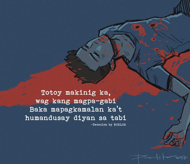 #JusticeForKian artwork posted by PJ's Art Box on Facebook.