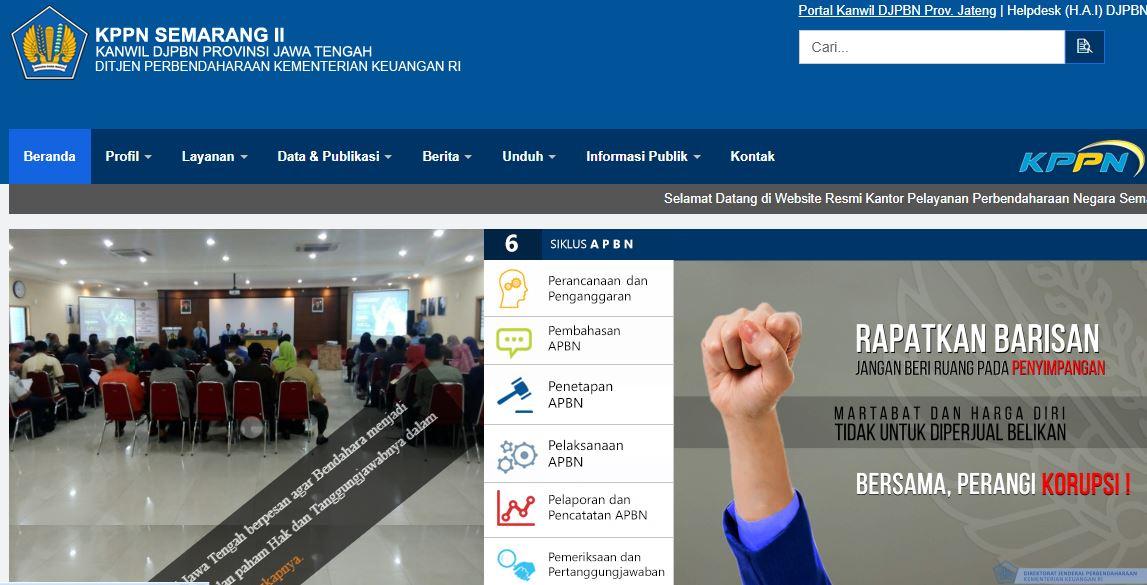 Alamat Kantor KPPN Di Jawa Tengah