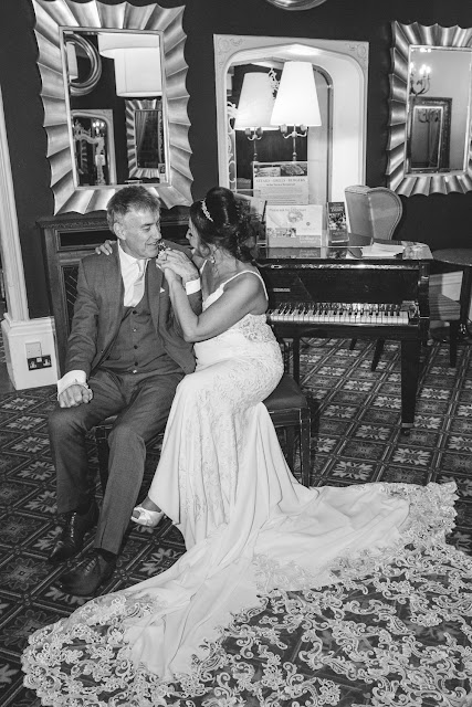 A cosy winter wedding at the Plough and Harrow in Birmingham | byGarazi | Birmingham Wedding Photographer | mature bride