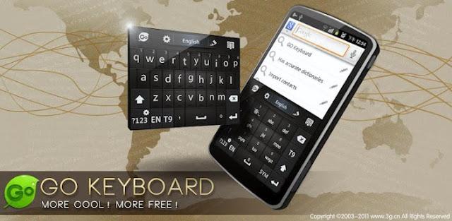 6 Aplikasi keyboard android terbaik dan paling recomended - Go Keyboard