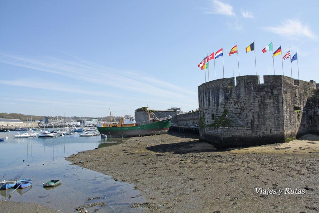Concarneau, Bretaña, Francia