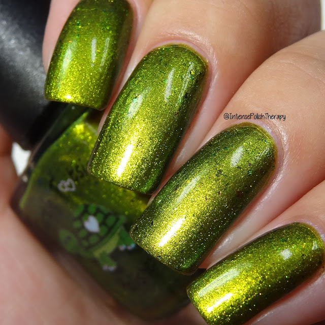 Turtle Tootsie Polishes - Leprechaun's Gold