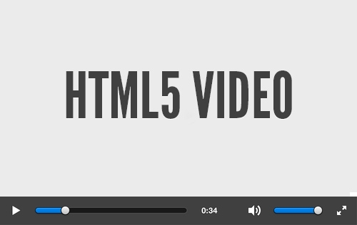 HTML 5 Video on browser