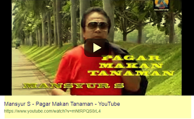 Download Lagu Mansyur S Pagar Makan Tanaman Mp3 Gratis