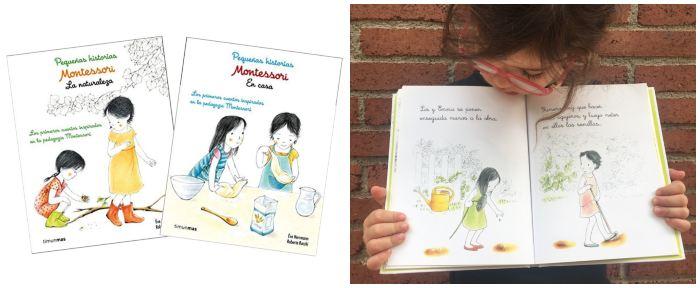 cuentos libros infantiles en letra ligada pequeñas historias montessori éve herrmann