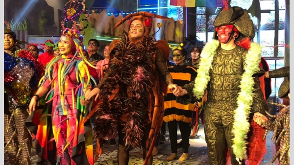 Team Jhong and Karylle gave a sequel to the love story of Ipis and Higad in Magpasikat 2018