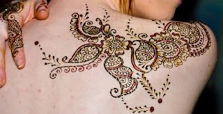 New Back Mehndi Designs