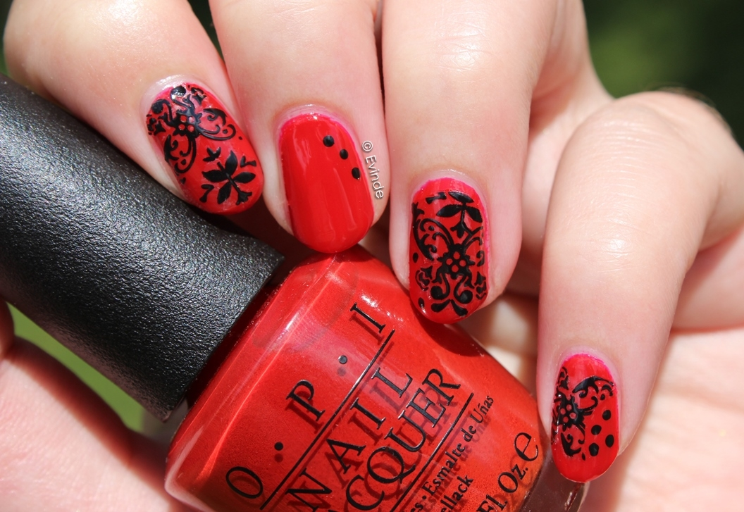 OPI Romantically Involved nail swatch