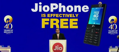 Reliance Jio 4G VoLTE Feature Phone Launched For Effective Price Of Rs. 0; Huge Disruption?