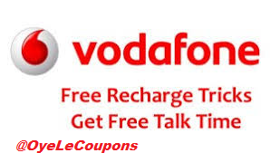 Vodafone Free Recharge Trick Hack Code.