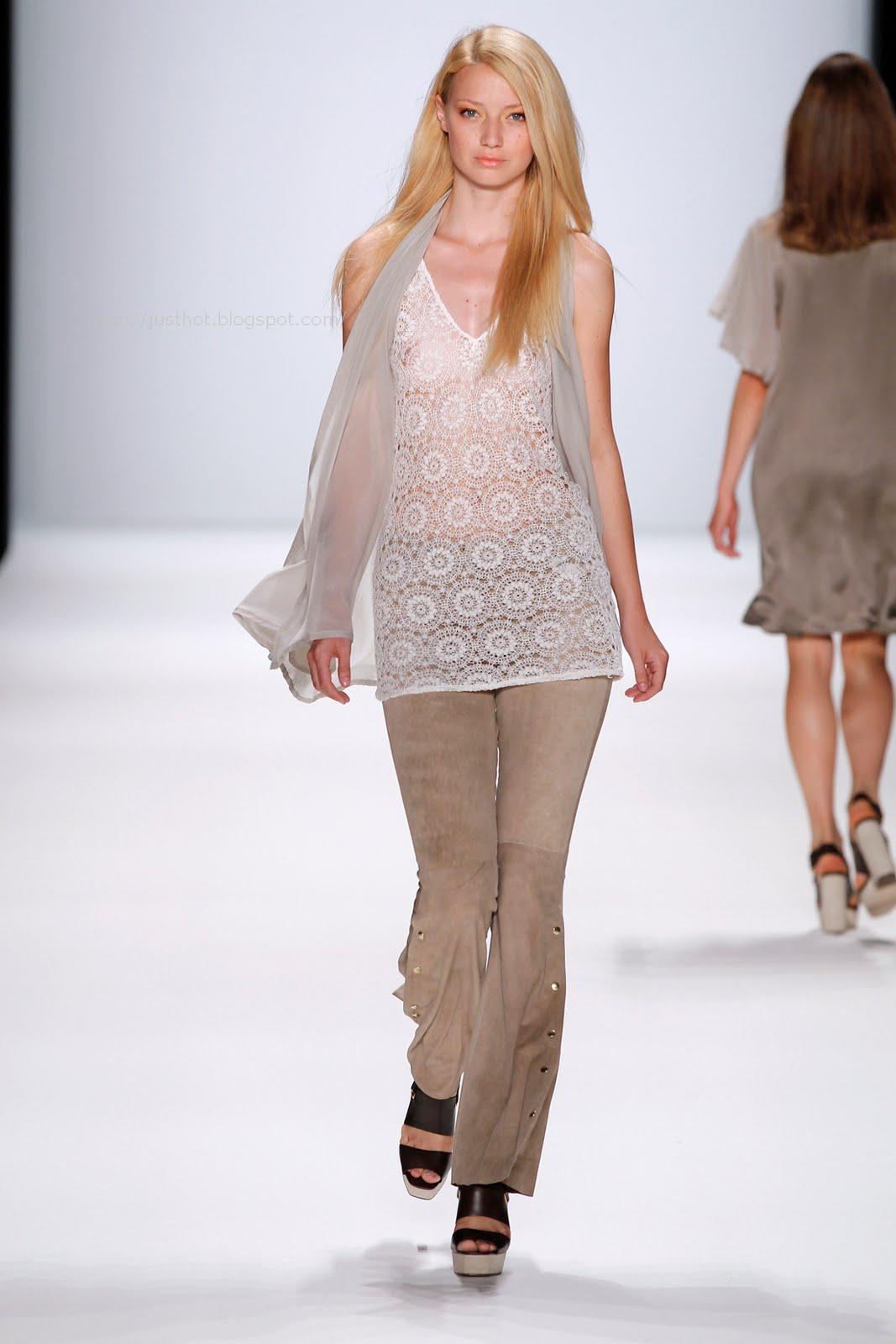 Fashion Show Models On Runway