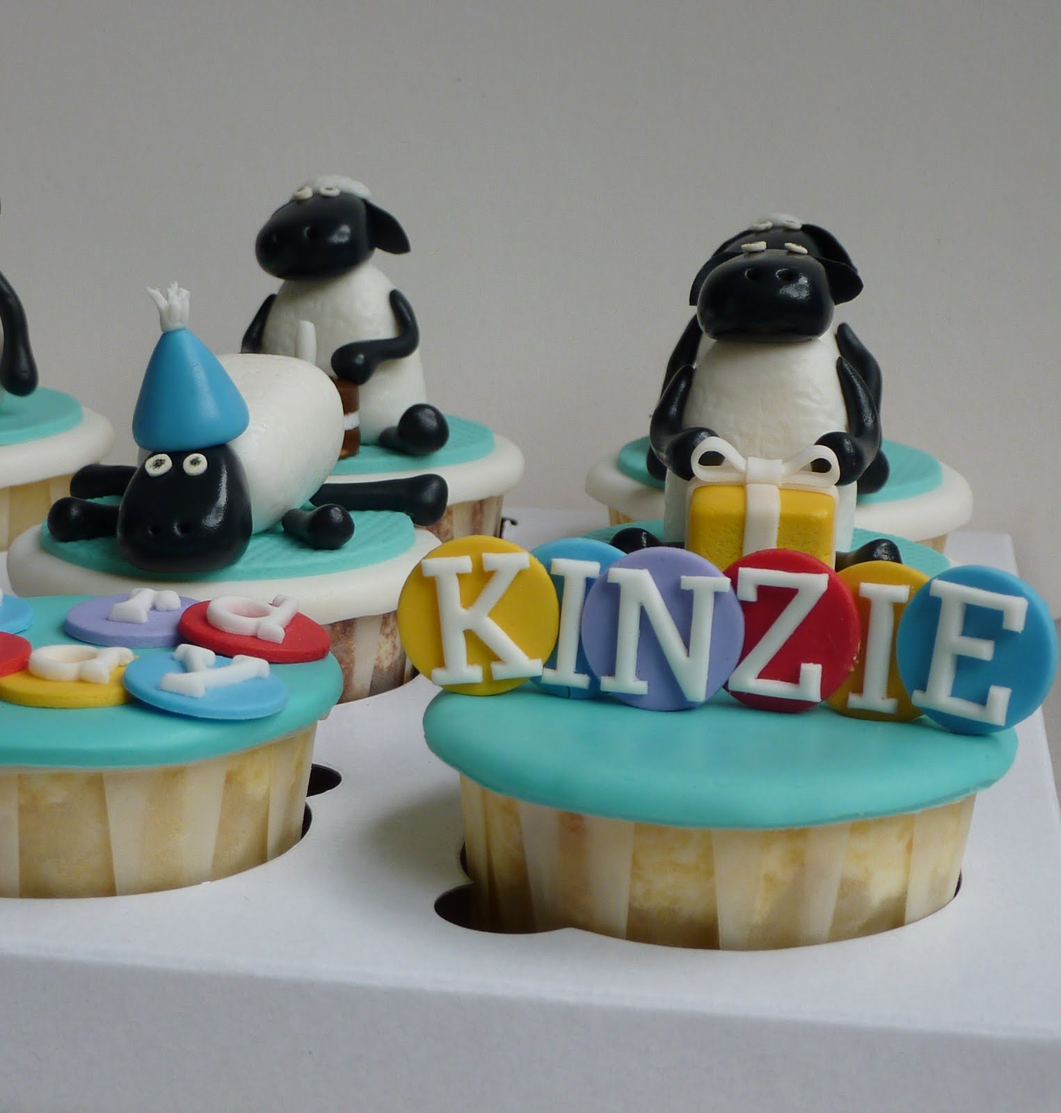 Little Miss Cupcakes Shaun The Sheep Cupcakes